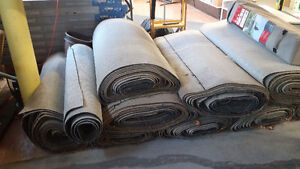 industrial/commercial carpet ends