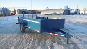 Side by side, quad trailer or utility trailers