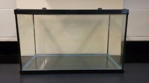 Glass aquarium 10 gallon