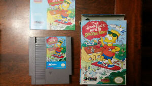 The Simpsons Bart vs. the Space Mutants (NES) - Complet CIB