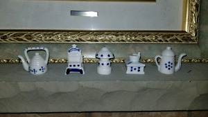 Collectable little ceramic figures