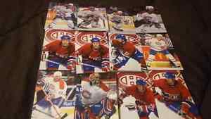 Montreal Canadians Hockey picture cards
