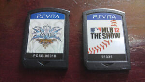 Jeu de Ps Vita BlazBlue Continuum Shift Extend et MLB 2012