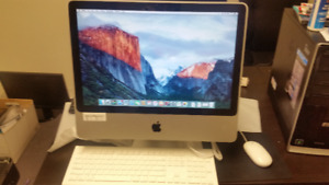 APPLE IMAC MINT CONDTION $400.00 TAX IN LOADED WITH OFFICE 2016