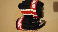 """Men's Warrior 14"""" """"Bully"""" Red/White/Black Gloves"""