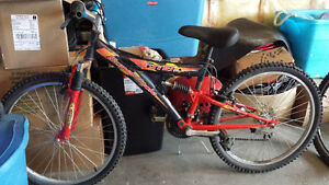 Supercycle XTI 18 mountain bike with dual suspension