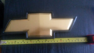 Chevy Front Grille Bow Tie Emblem, Genuine GM no box