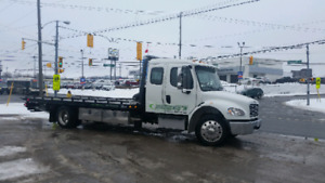 2017 flatbed tow Truck M2
