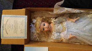 Brand New Ashton Drake Cinderella Handmade Porcelain Doll