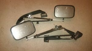 extended mirrors for wider trailer hauling