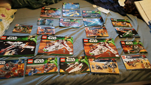 Lego books , cars fighter ships