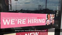 Hiring Part Time Beauty/Sales Advisor