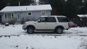 2001 Ford Expedition Gray SUV, Crossover