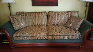 Beautiful sofa and loveseat
