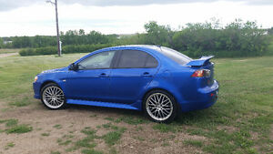 2010 Mitsubishi Lancer Gts Sedan. TRADE FOR STREET BIKE