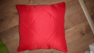Blanket zips into pillow..great for camping or the car.