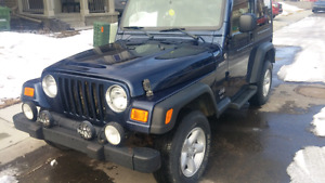 2005 Jeep TJ trail edition