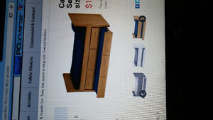 Twin Crate Design bed