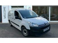 2016 Citroen Berlingo 1.6 BlueHDi 750 LX L2 6dr Panel Van Diesel Manual
