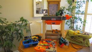 Établi jouet de travail STEP 2, plus que complet !