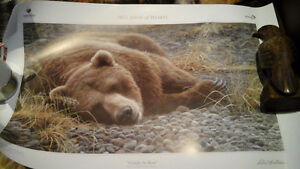 5 ROBERT BATEMAN SIGNED NUMBERED PRINTS