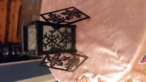 Party Lite-3 pc. Small lantern candle holders