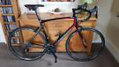 56cm Merida Carbon Road Bike