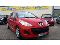 2011 (11) Peugeot 207 1.4 HDI S RED * TURBO DIESEL * FAMILY CAR * £20 TAX *
