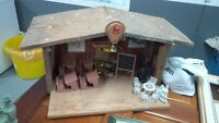 play school house (dollhouse), original hand built