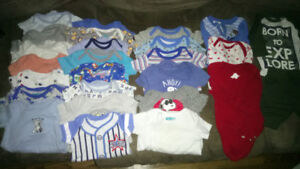0-3 month boy baby clothes