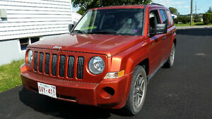 2009 Jeep Patriot North Edition SUV, (5 SPEED) 4X4 (updated)