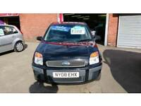 FORD FUSION 1.4 DIESEL STYLE CLIMATE £30 YEAR TAX MET BLACK ECONOMICAL 2008 08