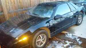 Classic Antique Black 1986 Pontiac Fiero For Sale!