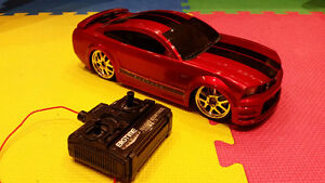 Battery Operated remote Control Mustang - Red
