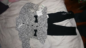 Calvin Klein girls outfit ..brand new!