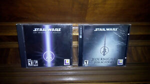 2 VERY RARE STAR WARS PC games LIKE NEW, Complete & ORIGINAL