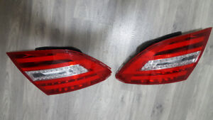 2012 - 14 Mercedes C Class C300 C350 Both Side Tail Lights