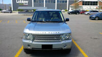 2006 Land Rover Range Rover Beige with wood SUV, Crossover