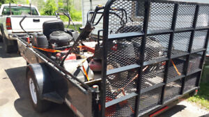 2018 6x12 utility trailer for sale