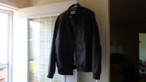 Dockers Men's Faux Leather Jacket Size XL -NEW