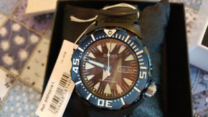 #SEIKO MONSTER SRP581 Prospex Diver Automatic- 4R36 movment -BNI