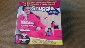Pink Snuggie For Kids   New , never used  $10