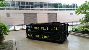 5 to 20 yard BIN RENTAL SPECIAL ~ All G.T.A