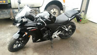 2013 CBR500 **BARELY USED**WARRENTY TILL 2018**