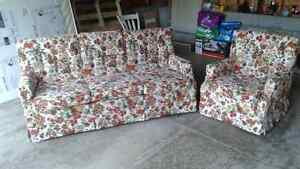 Couch & Chair (free delivery within Kingston)