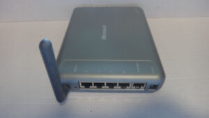 Microsoft - MN-700 -54Mbps Wireless 802.11g Base Station Router