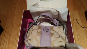Coach bags brand new with tags and box!