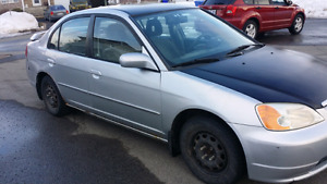 2001 honda civic manual 234k (negotiable)