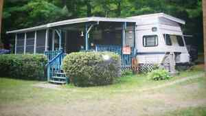 1989 33 foot citation camping trailer full roof over trailer