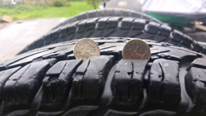 """16"""" wheels and tires for Dodge Ram or similar"""